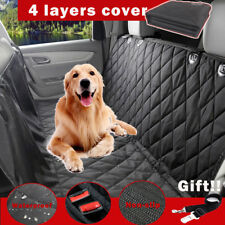 Pet Dog Car Seat Cover Nonslip Hammock Mat For Car Truck SUV Back Seat Waterproo