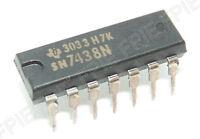 SN7438N TTL − Quad 2−Input Pos NAND BufferTexas Instruments