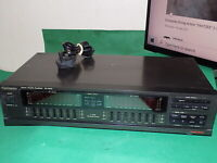 TECHNICS SH-8058 Stereo Graphic Equalizer Vintage Hifi Separate 7 Band Japan