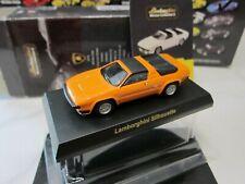 Kyosho - Lamborghini Collection 2 - Silhouette Orange - Scale 1/64 Mini Car D31