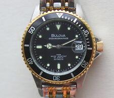 BULOVA OCEANOGRAPHER AUTOMATIK DIVER  SWISS MADE - Bicolor, 200m, TOP Sammleruhr