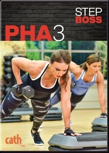 CATHE FRIEDRICH STEP BOSS SERIES PHA 3 DVD WORKOUT EXERCISE NEW SEALED