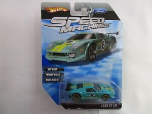 Hot Wheels Speed Machines Ford GT LM 2009 Premium Deluxe Muscle Car Race Racing