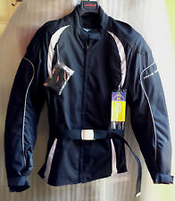 GIACCA FRANK THOMAS LADY RIDER TG L WOMANS MOTORCYCLE SCOOTER JACKET