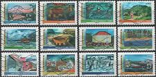 France 4127-4138 Year of Overseas Territories  [12 USED Stamps] Issued 2012