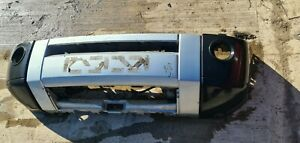 2005 - 2009 LAND ROVER DISCOVERY 3 FRONT BUMPER Silver