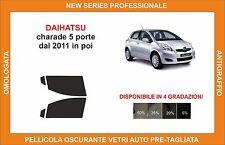 pellicola oscurante vetri dahiatsu charade 5p dal 2011 kit anteriore