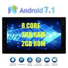 2 Din Android 7.1 Car GPS Autoradio MP3 Giocatore Bluetooth WIFI Screen Mirror