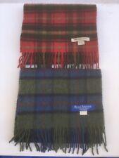 Cashmere Scarf 2 Blue Red Green Royal Speyside Johnstons Scotland Scarves Check