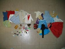 Large Lot Of Vintage Barbie and Handmade Clothing and Accessories