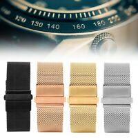 Professional 22mm Stainless Steel Watch Strap Band Replacement Accessories Parts