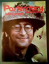 JOHN LENNON  PosterStory  n.2 1981  ITALIAN POSTER MAGAZINE