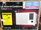LG Electronics 7,500 BTU Window Air Conditioner wth Cool, Heat and Wi-Fi Control photo