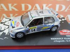 Die cast 1/43 Modellino Auto Renault Clio Maxi Rally Monte Carlo 1995 J.Ragnotti