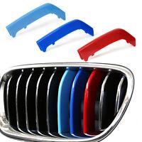 ///M Farbe Grille Streifen Kühlergrill Rahmen für BMW 3er F30 8 Bar Cover Stripe