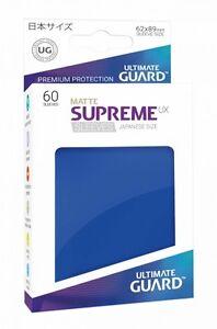 Ultimate Guard Supreme UX Sleeves Japanische Größe Matt Blau (60)