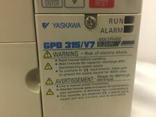 Yaskawa Gpd 315v7 Adjustable Frequency Drive Cimr V7am40p2