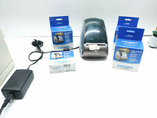Dymo Labelwriter 400 Thermal Label Printer Model 93089 Cords And Labels