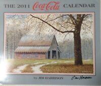 2011 COCA-COLA Calendar by JIM HARRISON