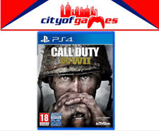 Call of Duty WWII PS4 Game New & Sealed In Stock