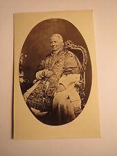 Papst Pius IX. - Foto / CDV