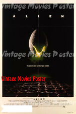 Alien 1979 Repro Reproduction Print USA Horror Poster Ridley Scott