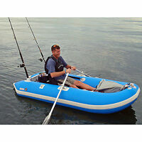 Solstice 29650 OutCat Catamaran ‑ Style 1 Person Inflatable Fishing Boat