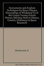 Instruments and Analysis Techniques for Space Physics : Proceedings of Workshop