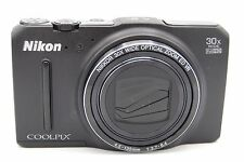 NIKON COOLPIX S9700 16.0MP 3''SCREEN 30x DIGITAL CAMERA BLACK (NO BATTERY)