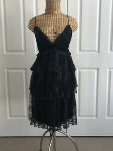 MARCHESA NOTTE LACE DRESS SIZE 12 NEW WITHOUT TAGS