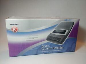 Portable Cassette Recorder Radio Shack 14-1117
