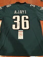 Jay Ajayi Signed Philadelphia Eagles Custom Super Bowl Jersey JSA COA