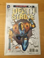 DEATHSTROKE 0, NM (9.4 - 9.6) 1ST PRINT ORIGIN DEATHSTROKE, NEW 52, ROB LIEFELD