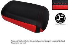 Rojo y Negro personalizado de vinilo cabe Honda VTX 1800 02-04 Trasero Cubierta de asiento solamente