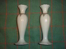 2 Lenox Bud Vases Beautiful Classic Design