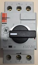 Sprecher+Schuh KTA7-25S-6.3A Motor Protector 6kV 6.3A 415-690VAC 50/60Hz New