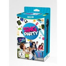 Boxed Sing Party With 2 Microphones for PAL Nintendo Wii U 3 Singing