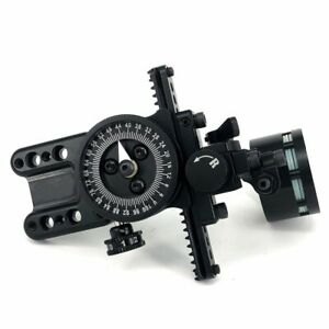 Single Pins Sight Pointer Compound Bow Archery Micro Adjustable RH LH Wrapped