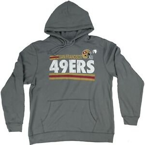 San Francisco 49ers NFL Junk Food Men's Pullover Hoodie