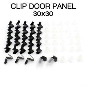 TOYOTA HILUX RN10 RN20 RN25 RN30 RN36 RN40 FIT NEW CLIP DOOR PANEL 30x30 L/R SET