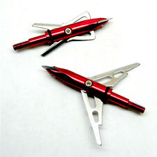 "2-100 Grain 2 Blade Slipcam Mechanical 2"" Cut Archery Bowhunting Arrow Broadhead"