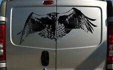 100cm HUNTING RAPTOR HAWK FALCON EAGLE FALCONRY BIRD OF PREY VAN STICKER DECAL