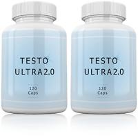 2 x Testo Ultra Testosterone Booster Hormone Testobooster Anabolic Steroid Best
