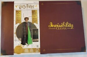 WOW! Stuff Collection Harry Potter Invisibility Cloak Cape Costume Deluxe