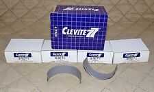 "FOUR CLEVITE CB542P1 .001"" Rod Bearings for 59-76 OLDSMOBILE V8, 68-84 CADILLAC"