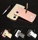 For LG Google Nexus 5 D820 D821 Luxury Aluminum Metal Bumper+PC Back Case Cover