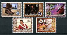 Norfolk Island 2013 MNH Country Music Festival 20th Anniv 5v Set Guitars Stamps