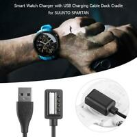 Smart Watch Charger with USB Charging Cable Wire Dock Cradle for SUUNTO SPARTAN