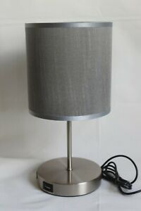 LED Touch Control Table Lamp, Dimmable Bedside Desk Lamp with 2 USB Ports NEW