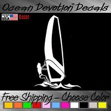 Windsurf Ocean Devotion Vinyl Decal / Sticker Vx- Surf Sail Car Window Salt Life